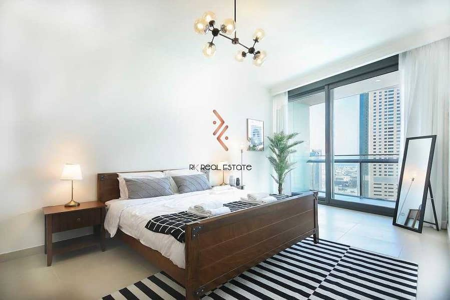 18 Fully Furnished 2BR with Balcony