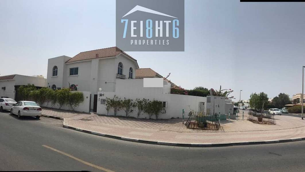 Exceptional value: 4-5 b/r beautifully presented semi-independent villa + maids room + large garden for rent in Jumeirah