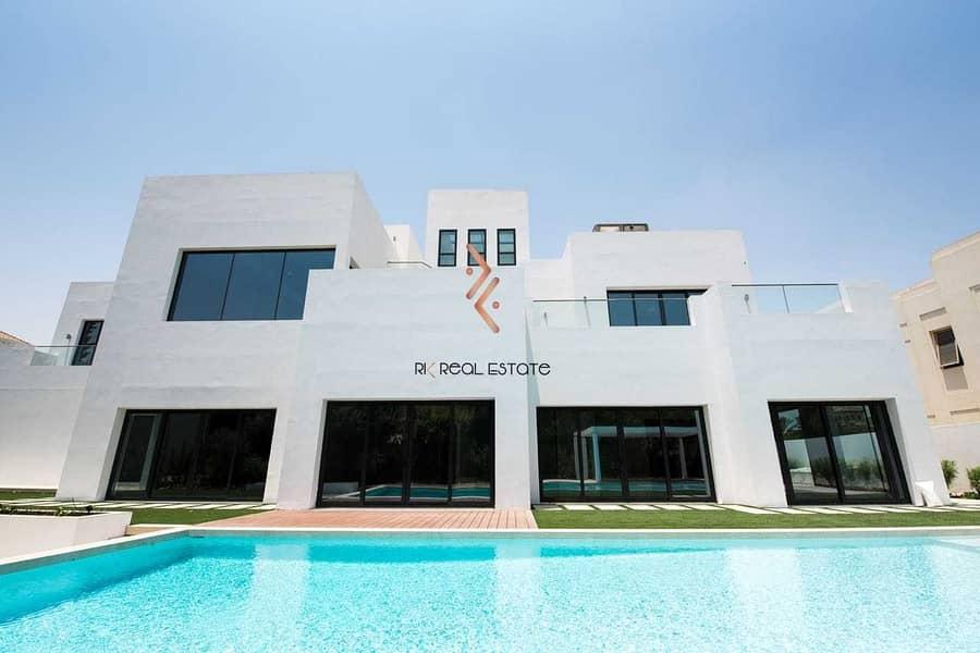 Modern Design 6BR Villa at Al Barari