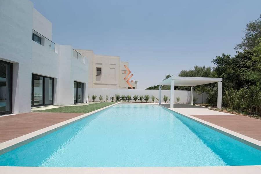 2 Modern Design 6BR Villa at Al Barari