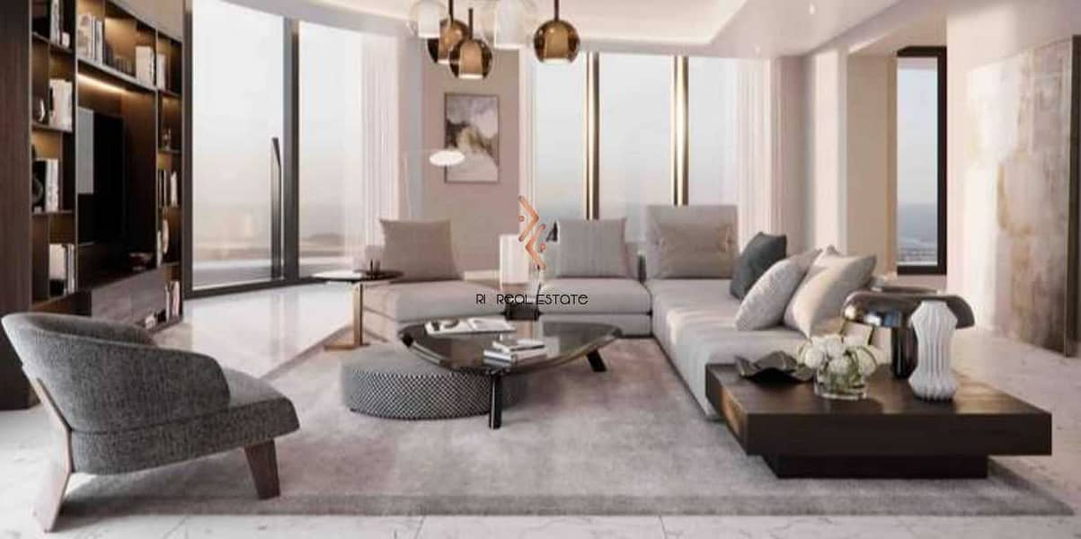 Grand Living Room with Theatrical Space