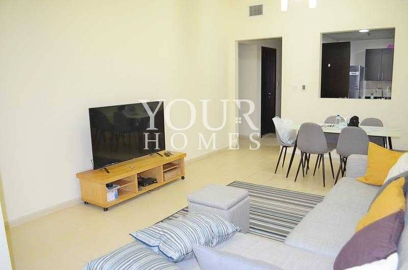 OP| 2BHK+M vacant NEWLY furnished with Terrace Summer 1 JVC