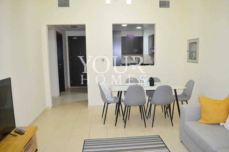 2 OP| 2BHK+M vacant NEWLY furnished with Terrace Summer 1 JVC