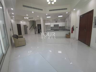 تاون هاوس 3 غرف نوم للايجار في قرية جميرا الدائرية، دبي - sb | Corner 3 BR with Elevator Huge Garden