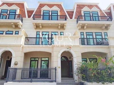 تاون هاوس 4 غرف نوم للبيع في قرية جميرا الدائرية، دبي - OP | 4BHK+M TH Mulberry Mansion JVC