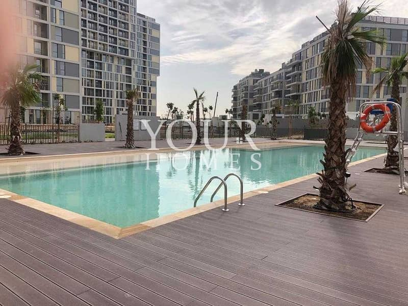 15 SM | Special Offer | Spacious 1 Bed | Pool View @550K