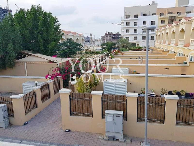 15 OP | 2BHK+M Nakheel Townhouse JVC D12