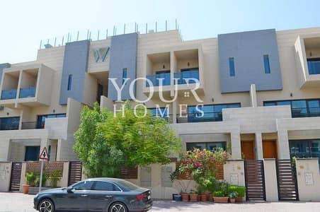 تاون هاوس 4 غرف نوم للبيع في قرية جميرا الدائرية، دبي - OP | Vacant 4BHK TH With Swim. Pool
