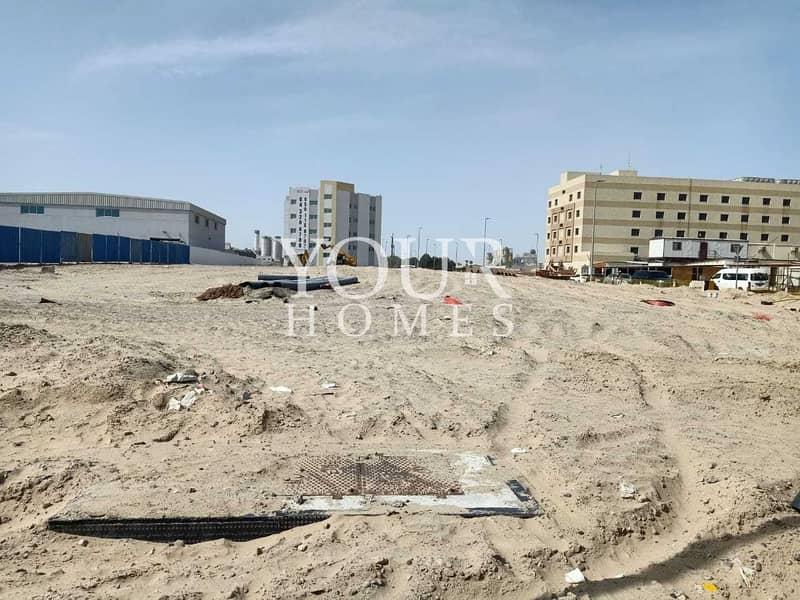 2 JA |  Corner Plot For Labour camp For sale In Jabal Ali 1st