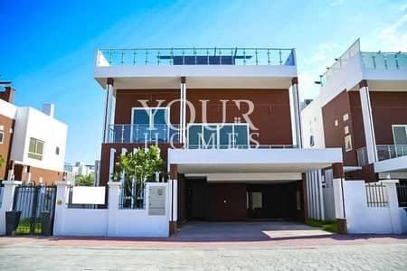 فیلا 5 غرف نوم للبيع في قرية جميرا الدائرية، دبي - MK | 5Bed +maid with pool / lift | Private independent villa | Facing park