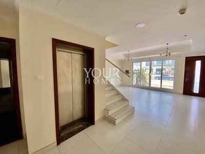 4 Bedroom Townhouse for Rent in Jumeirah Village Circle (JVC), Dubai - Spacious Villa|Private Elevator|4 Bedroom En-Suite| 120kOnly