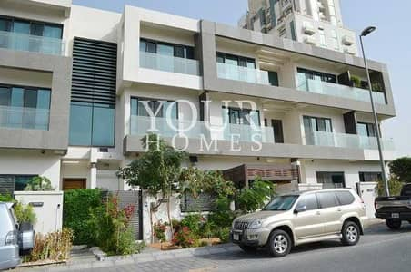 4 Bedroom Townhouse for Sale in Jumeirah Village Circle (JVC), Dubai - OP | 4BHK+M with lift vacant Signature Villas XII JVC