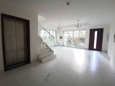 4 Bedroom Townhouse for Rent in Jumeirah Village Circle (JVC), Dubai - SB | Corner 4BR + Maid , with Elevator |Near Park