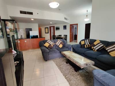 2 Bedroom Flat for Rent in Dubai Production City (IMPZ), Dubai - PAY 6CHQS | LAKE VIEW 2BR | QUALITY FURNISHED | HUGE BALCONY