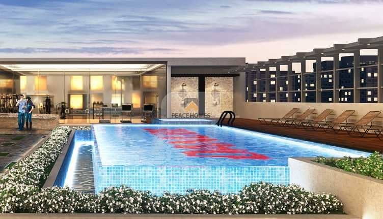 شقة في إلز ريزيدنس أرجان 1 غرف 695000 درهم - 5094379