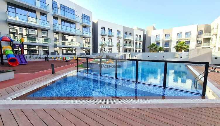 شقة في مساكن أريا قرية جميرا الدائرية 1 غرف 56000 درهم - 5079968