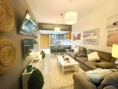 فلیٹ 1 غرفة نوم للايجار في قرية جميرا الدائرية، دبي - شقة في بانثيون ايليسي قرية جميرا الدائرية 1 غرف 60000 درهم - 5039677
