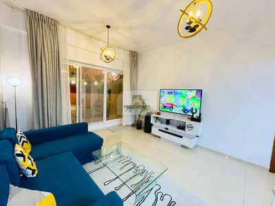 1 Bedroom Apartment for Rent in Jumeirah Village Circle (JVC), Dubai - PAY 4CHQS   DESGINER FURNISHED   1BR WITH BALCONY @46K