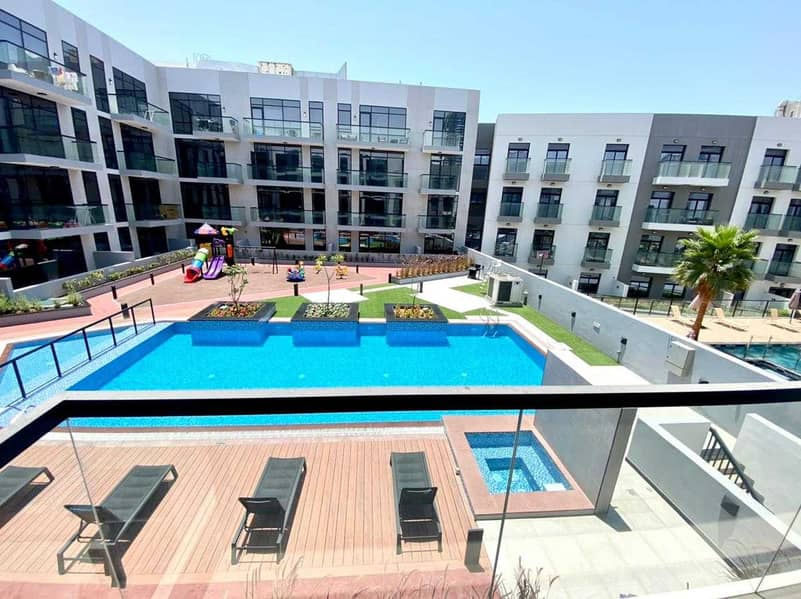 شقة في مساكن أريا قرية جميرا الدائرية 1 غرف 52003 درهم - 5179903