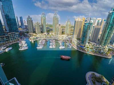 3 Bedroom Apartment for Sale in Dubai Marina, Dubai - Geniune Listing   Vacant 360 Panaromic Marina View