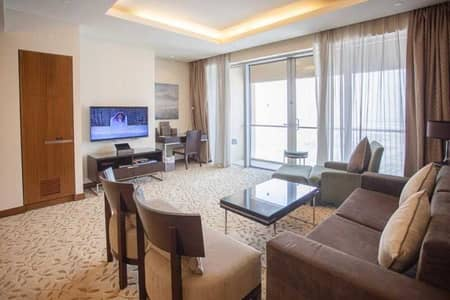 1 Bedroom Hotel Apartment for Rent in Downtown Dubai, Dubai - Super Luxury 1BR Hotel Apt |Fully Furnished Vacant