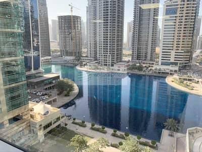 مکتب  للايجار في أبراج بحيرات الجميرا، دبي - Fitted Office With Lake View|Vacant From April 1st
