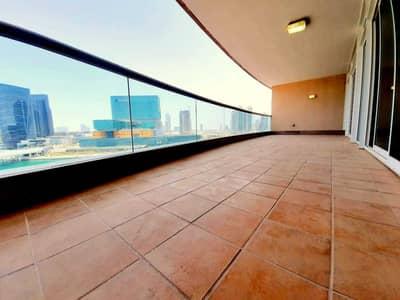 شقة 4 غرف نوم للايجار في منطقة النادي السياحي، أبوظبي - شقة في بناية زيك زاك منطقة النادي السياحي 4 غرف 240000 درهم - 5236812