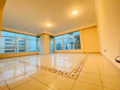 3 Bedroom Flat for Rent in Al Qurm, Abu Dhabi - Huge Size 3 Bedroom With Maids Room Laundry Room Balcony Parking Apartment At Al Qurm For 110k