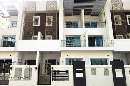 تاون هاوس 4 غرف نوم للبيع في قرية جميرا الدائرية، دبي - 4 Bed + Maids   Modern   Open Plan