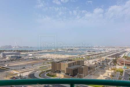 فلیٹ 2 غرفة نوم للبيع في دبي مارينا، دبي - Unfurnished | Sea View | Vacant