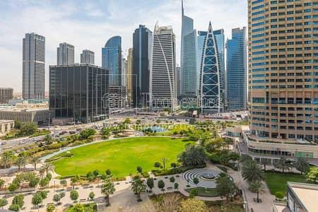 مکتب  للايجار في أبراج بحيرات الجميرا، دبي - Balcony w/View! Full Office in Armada JLT