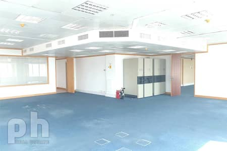 Office for Rent in Sheikh Zayed Road, Dubai - Sea View | Fitted |Next to  Metro Station