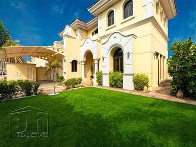 فیلا 5 غرف نوم للايجار في نخلة جميرا، دبي - Upgraded | Unfurnished | Atlantis Views
