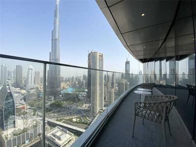 2 Bedroom Hotel Apartment for Rent in Downtown Dubai, Dubai - Full Burj View   Large Balcony   Spacious