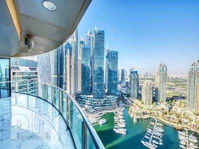 2 Bedroom Apartment for Rent in Dubai Marina, Dubai - Fully Upgraded | Marina View | Vacant Now