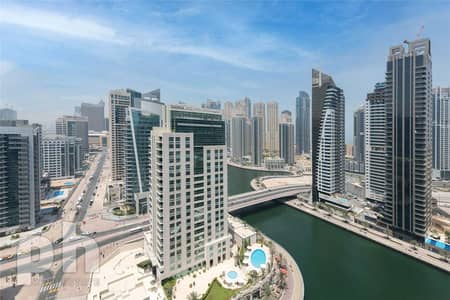 شقة 2 غرفة نوم للبيع في دبي مارينا، دبي - Exclusive| Vacant| Prime Unit | Call Now