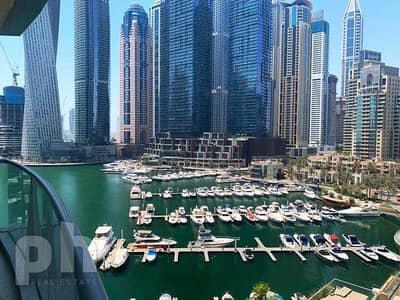 2 Bedroom Apartment for Rent in Dubai Marina, Dubai - Marina View     Vacant     Available Now