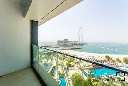 فلیٹ 2 غرفة نوم للايجار في جميرا بيتش ريزيدنس، دبي - Full sea View I Brand New I Chiller free