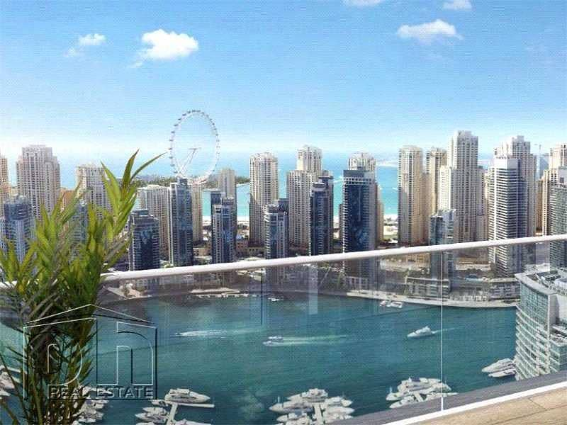 2 Bed | Re-sale | Full Marina View | Type D | High Floor