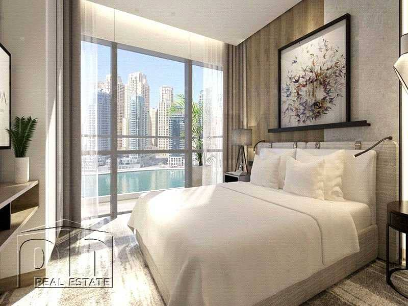 2 2 Bed | Re-sale | Full Marina View | Type D | High Floor