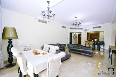 2 Bedroom Flat for Rent in Palm Jumeirah, Dubai - 2BD For Rent  Furnished Unit  Fairmont South