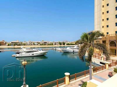 2 Bedroom Villa for Sale in Palm Jumeirah, Dubai - Tenanted I Great Marina Views I Immaculate