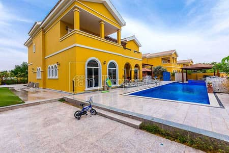 5 Bedroom Villa for Sale in The Villa, Dubai - Massive Corner Plot Andalusia by School!