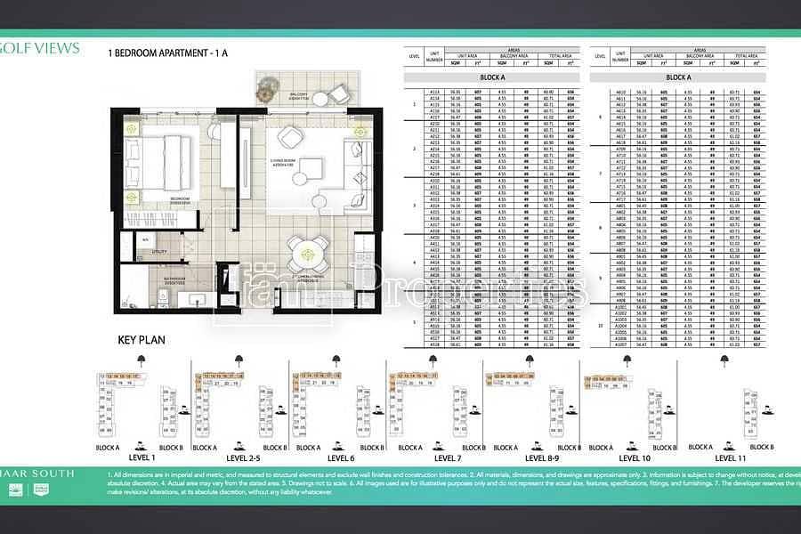 23 Lowest price| Golf facing 1br|high floor