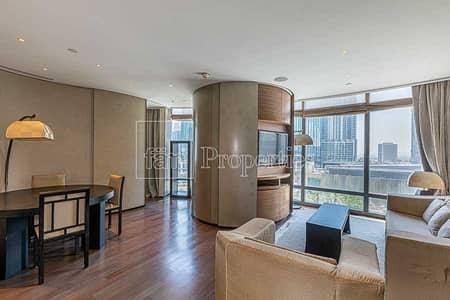 1 Bedroom Flat for Rent in Downtown Dubai, Dubai - 1BR Boulevard View Armani Casa Furnished