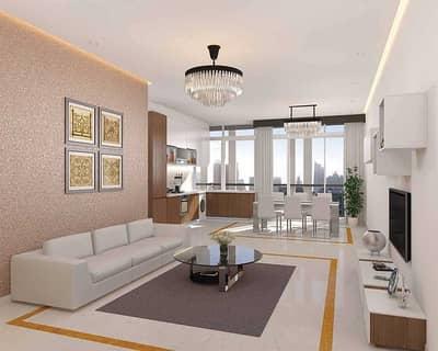 طابق سكني  للبيع في الخليج التجاري، دبي - Full floor | High Floor | Burj view | Furnished