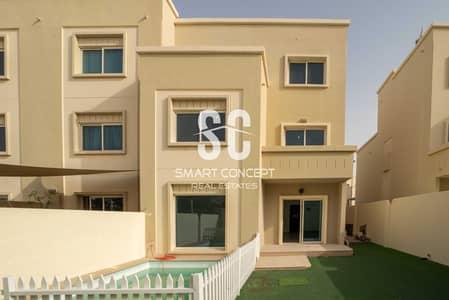 فیلا 5 غرف نوم للبيع في الريف، أبوظبي - Single Row | Private Pool and Garden | Large Terrace
