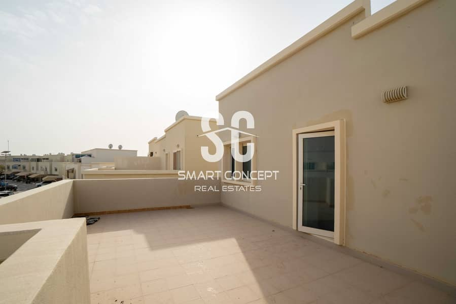 11 Single Row | Private Pool and Garden | Large Terrace