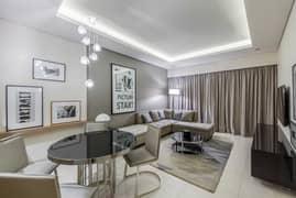 شقة في برج C أبراج داماك من باراماونت للفنادق والمنتجعات الخليج التجاري 1100000 درهم - 5167304