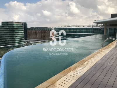 3 Bedroom Flat for Rent in Al Raha Beach, Abu Dhabi - Stunning Unit with Sea View and Maid's Room